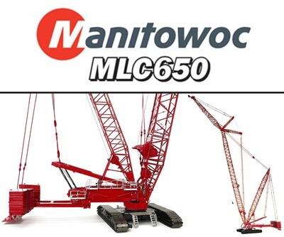 Manitowoc MLC650 Lattice-Boom Crawler Crane with VPC™