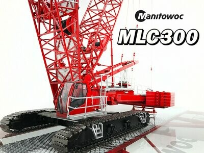 Manitowoc MLC300 Lattice-Boom Crawler Crane with VPC™