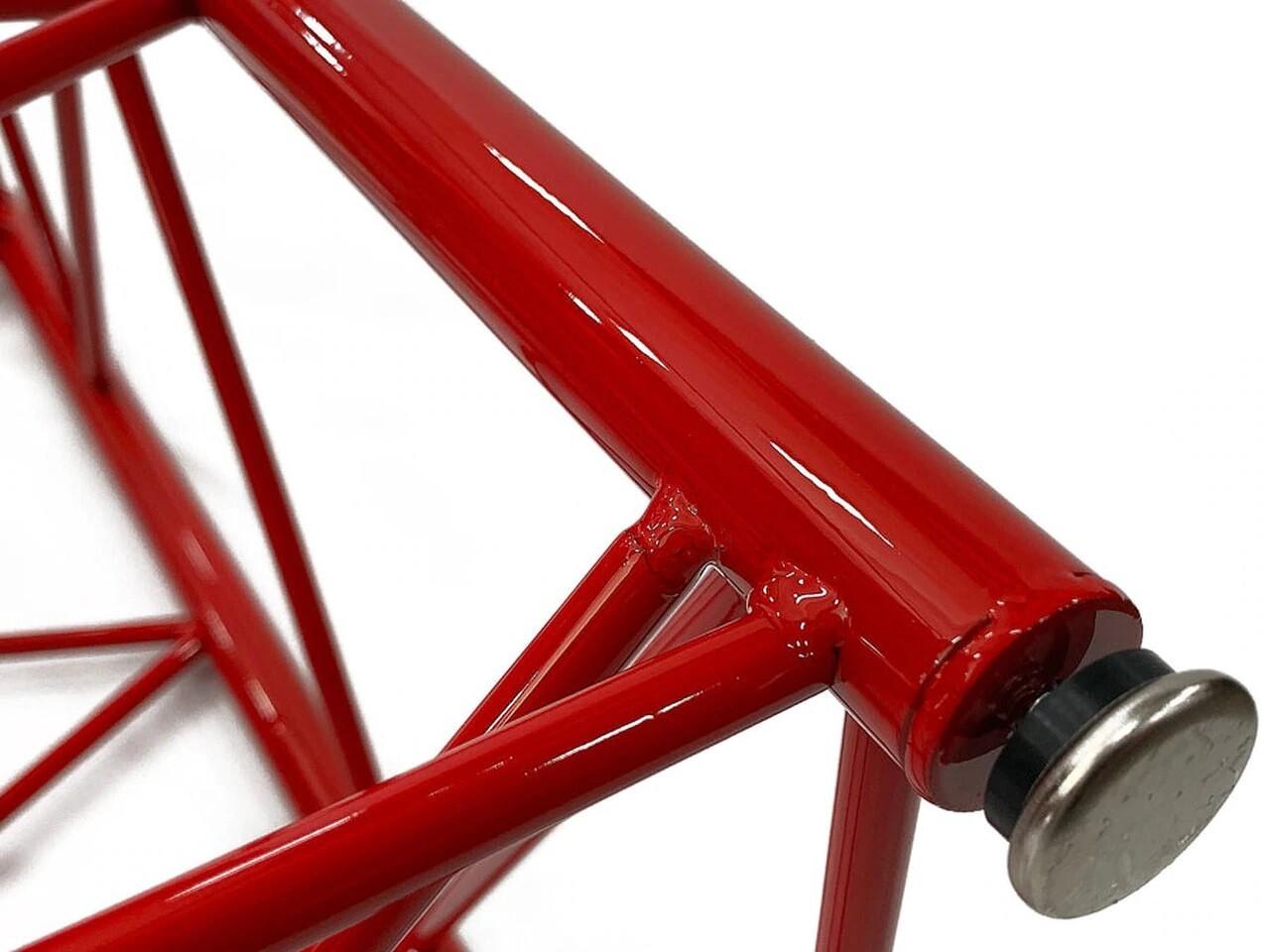 Tall Lattice Boom Table - Manitowoc Red