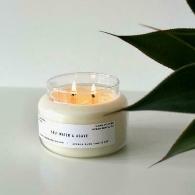 Apothecary Jar Candle