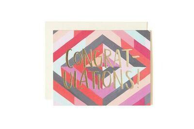 Diamond Congratulation Card