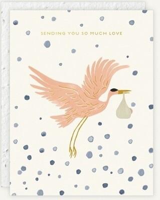 Stork Delivery Card