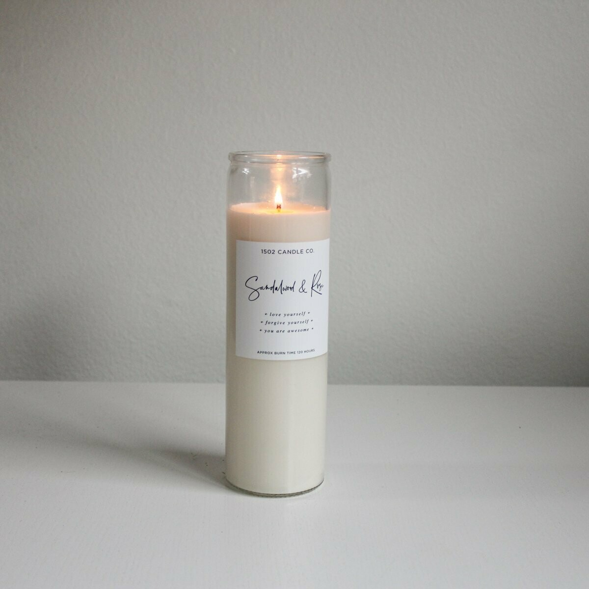 Love Yourself Ritual Meditation Candle