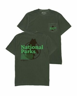 Our National Parks Puff Print Pocket Tee