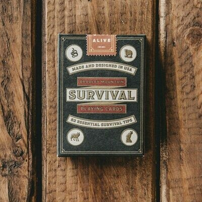 Survival Playing Cards (Bradley Mt)