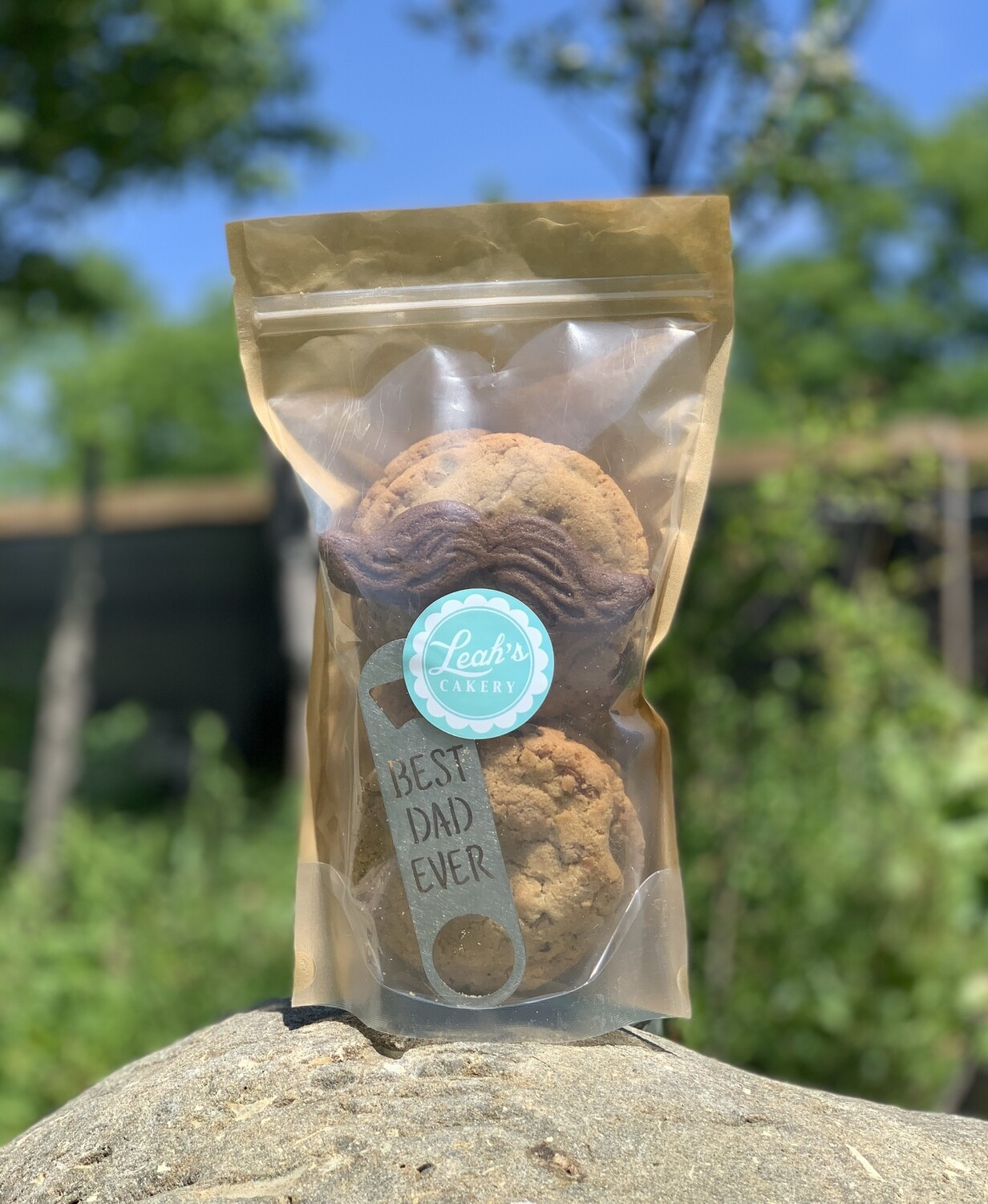 Father's Day Cookie Gift Bag