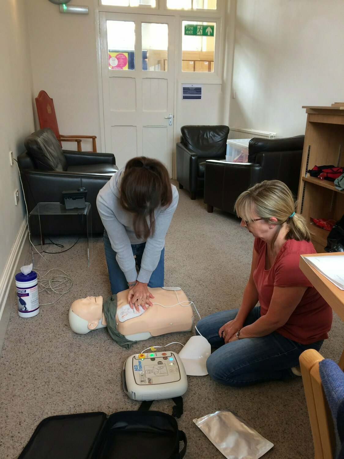 Online First Aid at Work