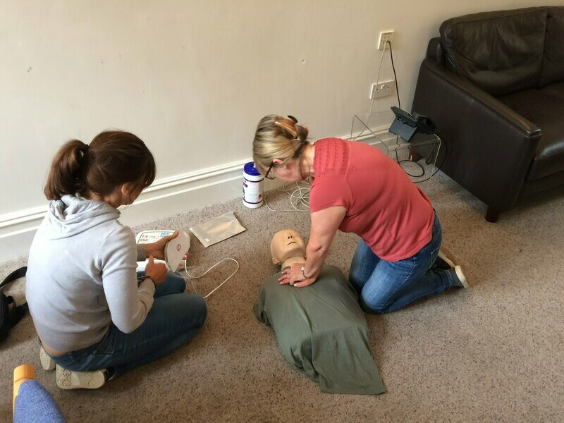 QA Level 3 Award in Emergency First Aid at Work (RQF)