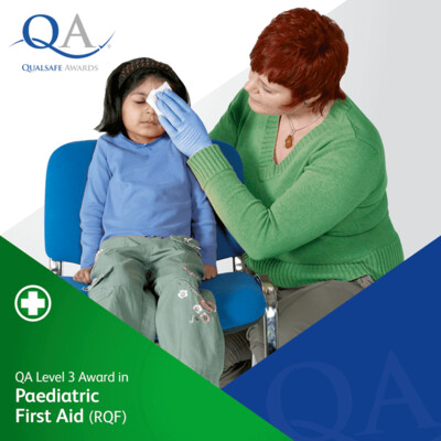 QA Level 3 Award in Paediatric First Aid (RQF)