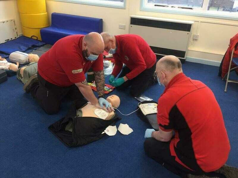Online Level 3 Award in First Aid at Work (RQF) Re-qualification