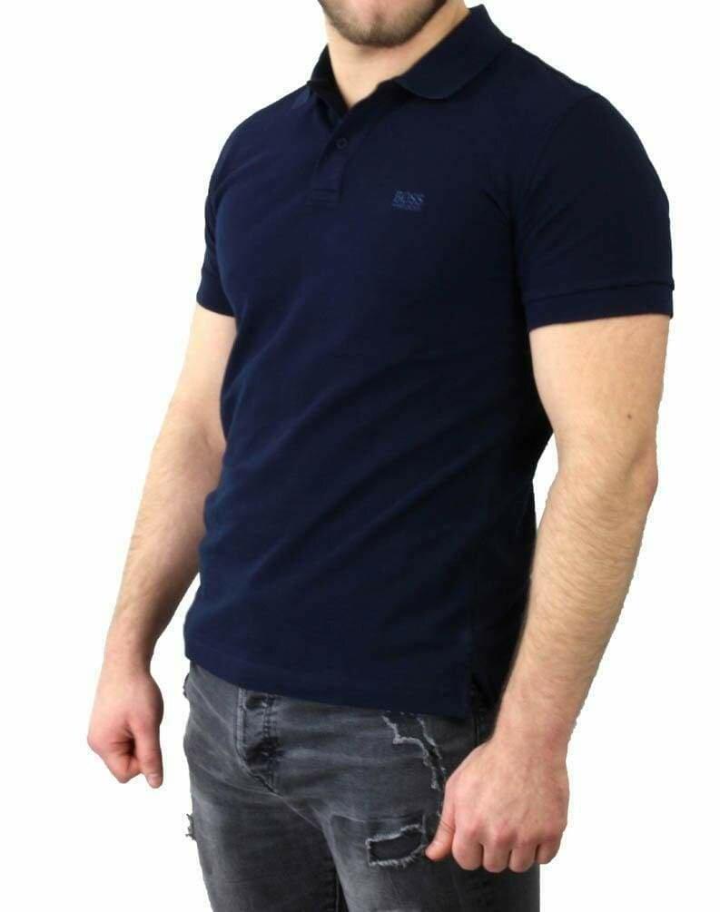BOSS Men's Polo Shirts Navy