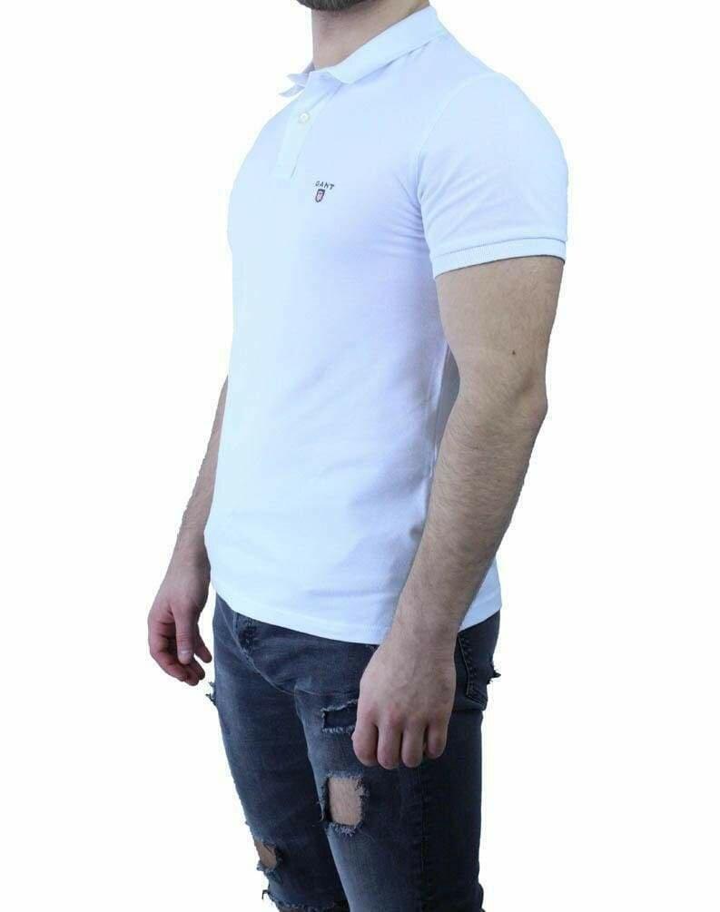 Gant Men's Polo Shirts White