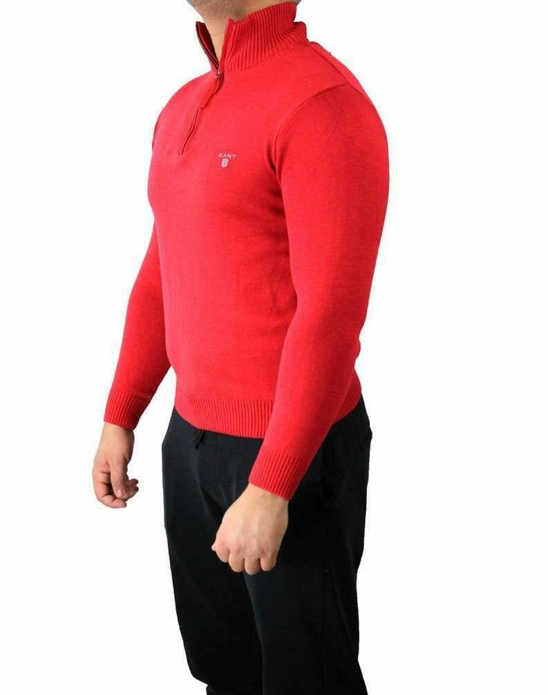 Gant Zip Men's Pullover Red