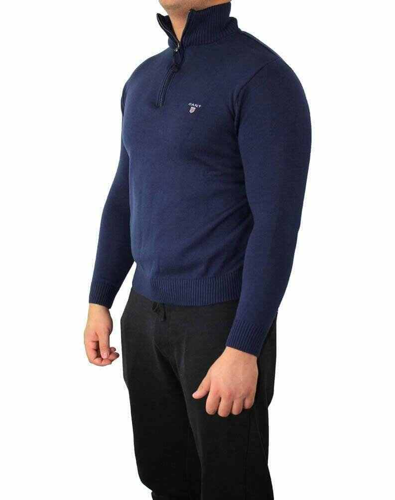 Gant Zip Men's Pullover Navy