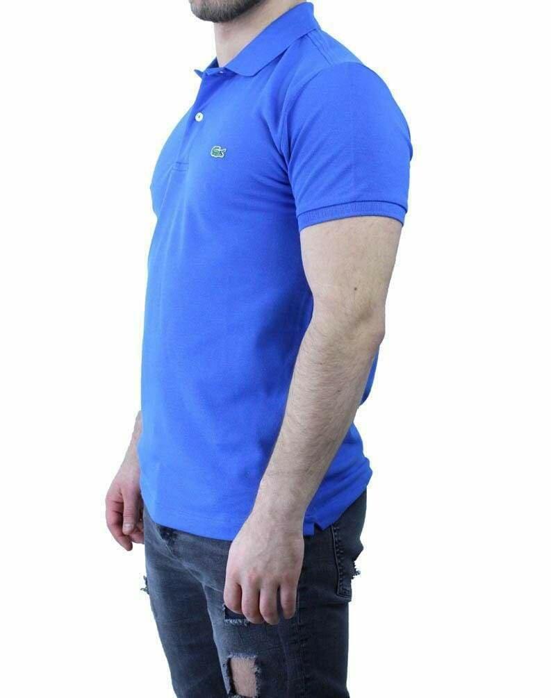Lacoste Classic Fit Men's Polo Shirts Sax Blue