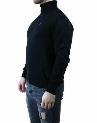 Ralph Lauren Rollneck Men's Pullover Black - Purple