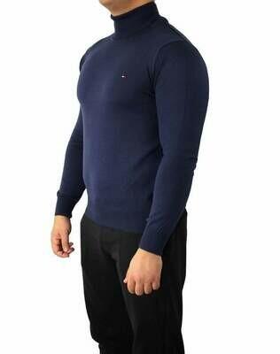 Tommy Hilfiger Rollneck Men's Pullover Navy