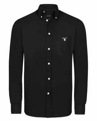 Gant Men's Shirts Light Black