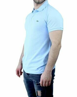 Lacoste Classic Fit Men's Polo Shirts Light Blue