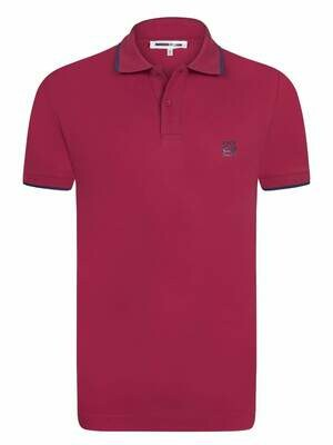 Alexander McQueen Men's Polo Shirts Red