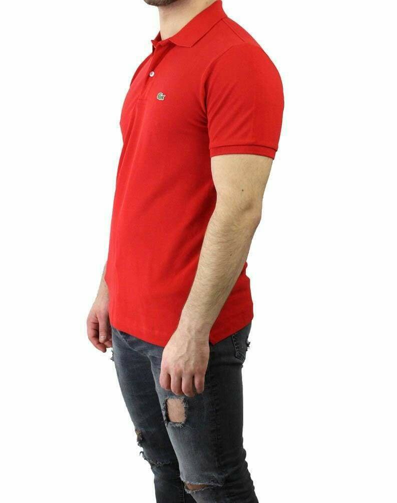 Lacoste Classic Fit Men's Polo Shirts Red