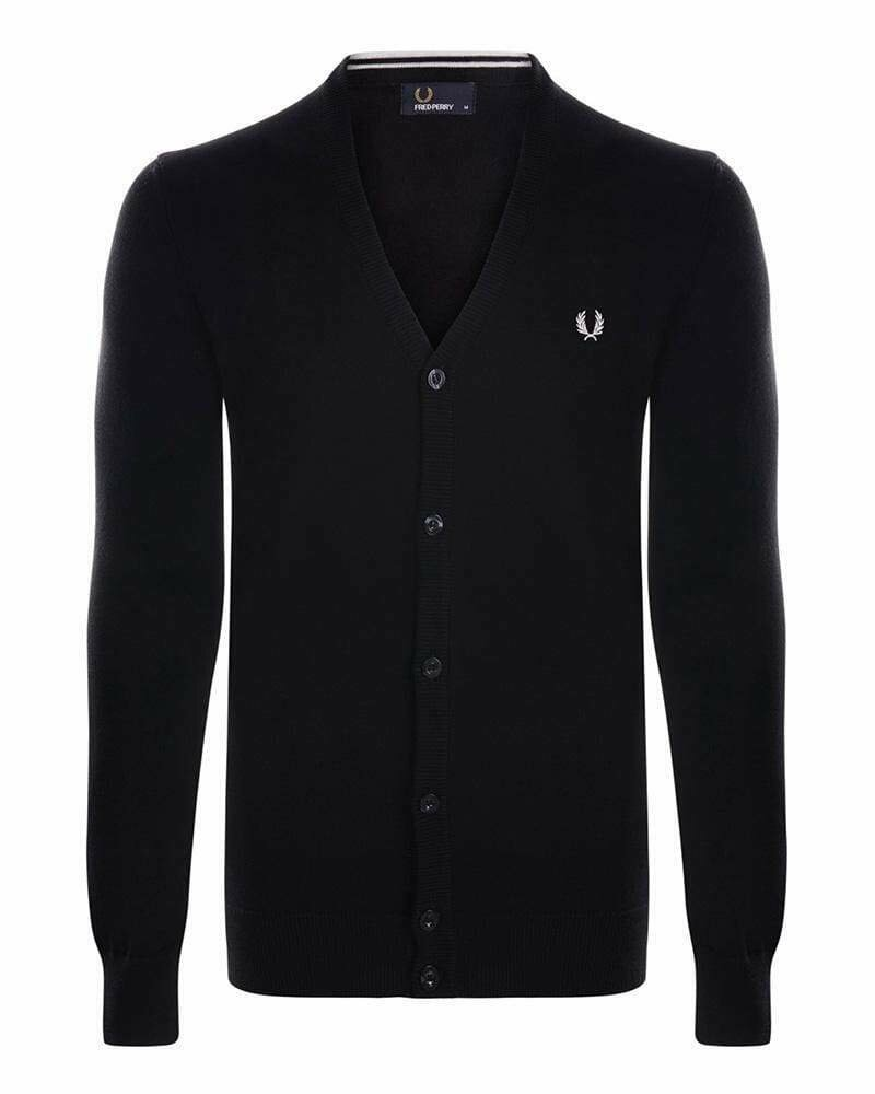 Fred Perry Men's Cardigan Black