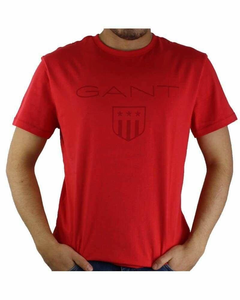 Gant Men's T-Shirts Wappen Red