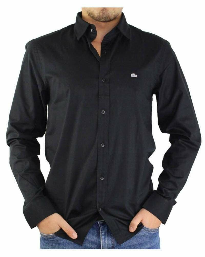 Lacoste Men's Shirts Regular Black