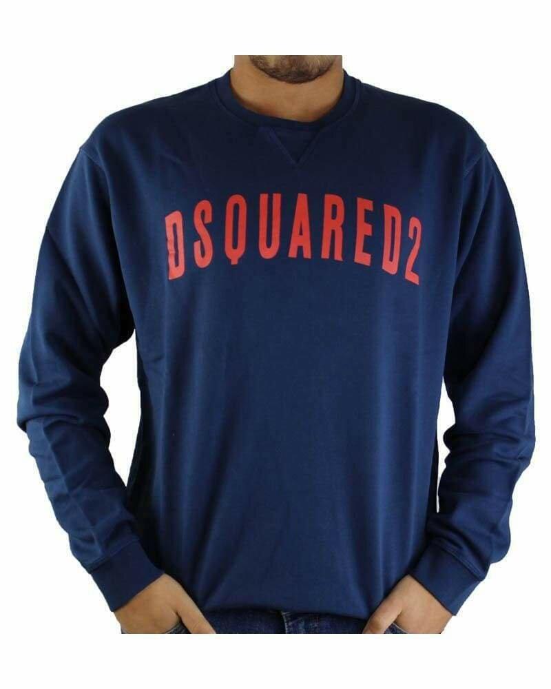 Dsquared2 Men's Sweatshirts Navy