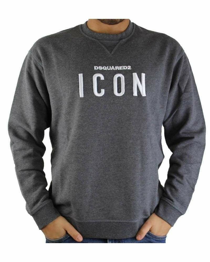 Dsquared2 ICON Men's Sweatshirts Anthracite