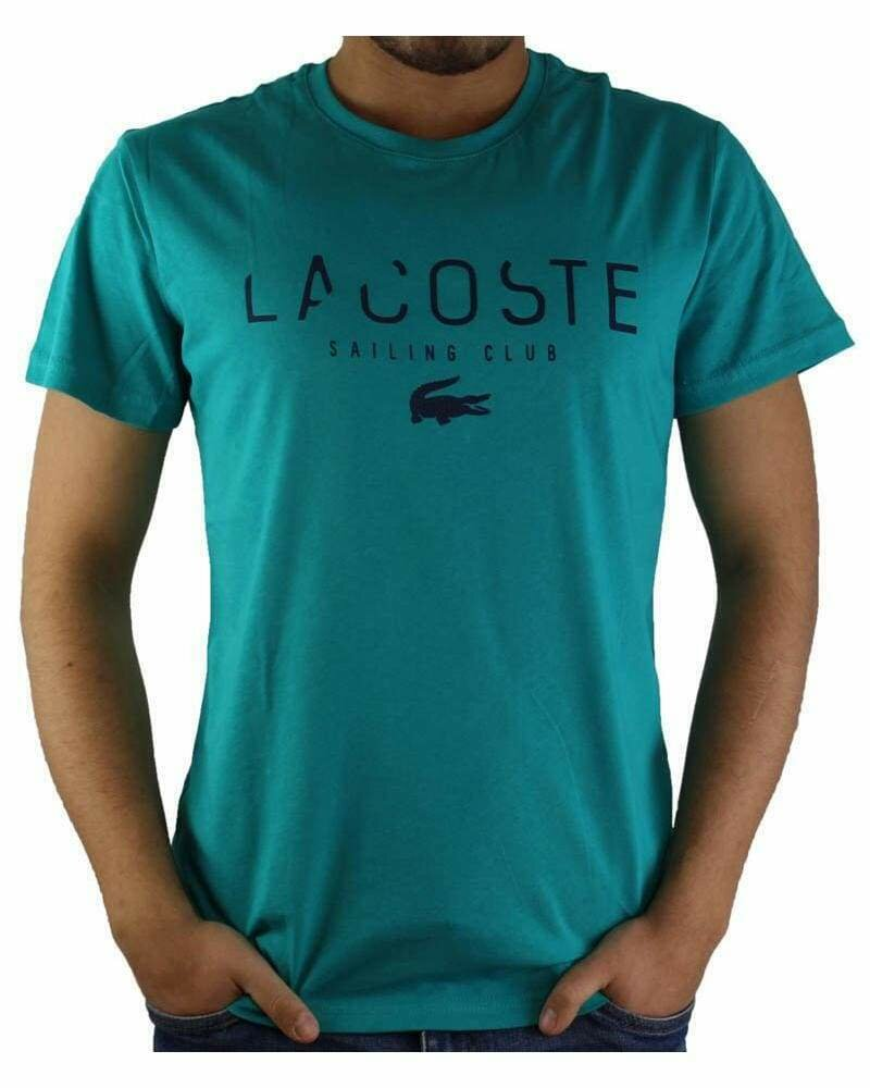 Lacoste Men's T-Shirt Sailing Club Crew Neck Green