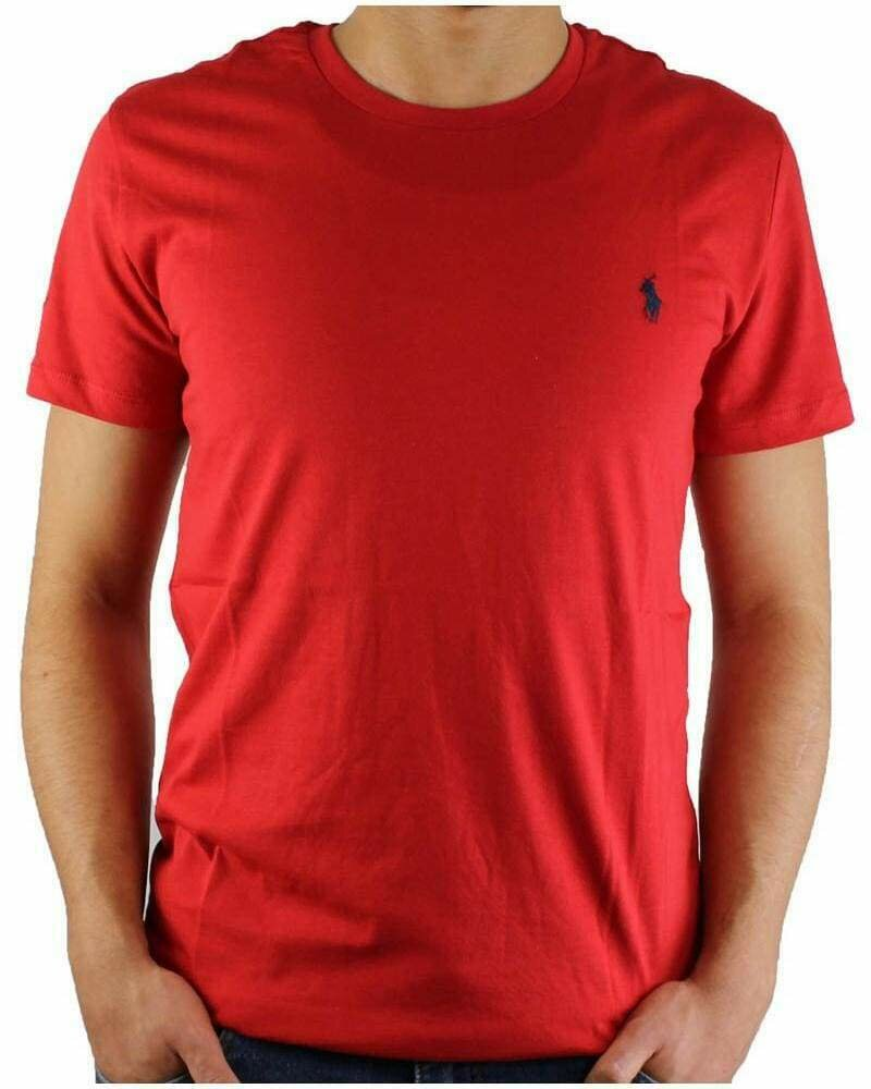 Ralph Lauren Crew Neck Men's T-Shirt Red