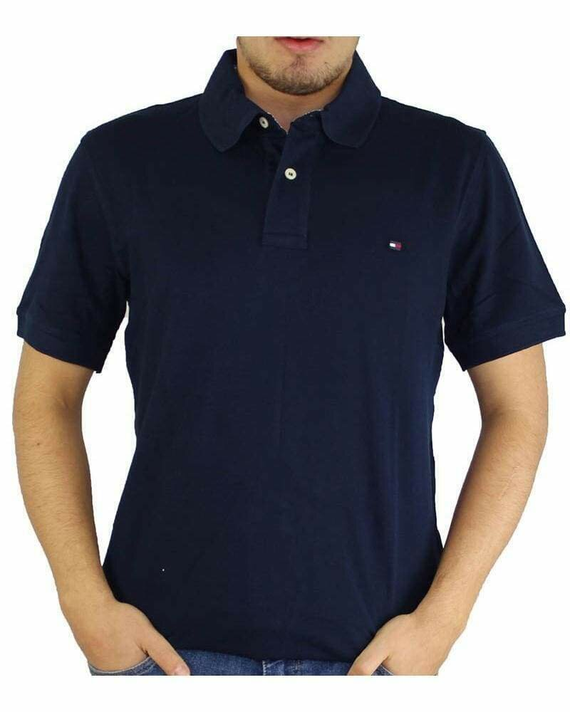Tommy Hilfiger Men's Polo Shirts Regular Fit Navy