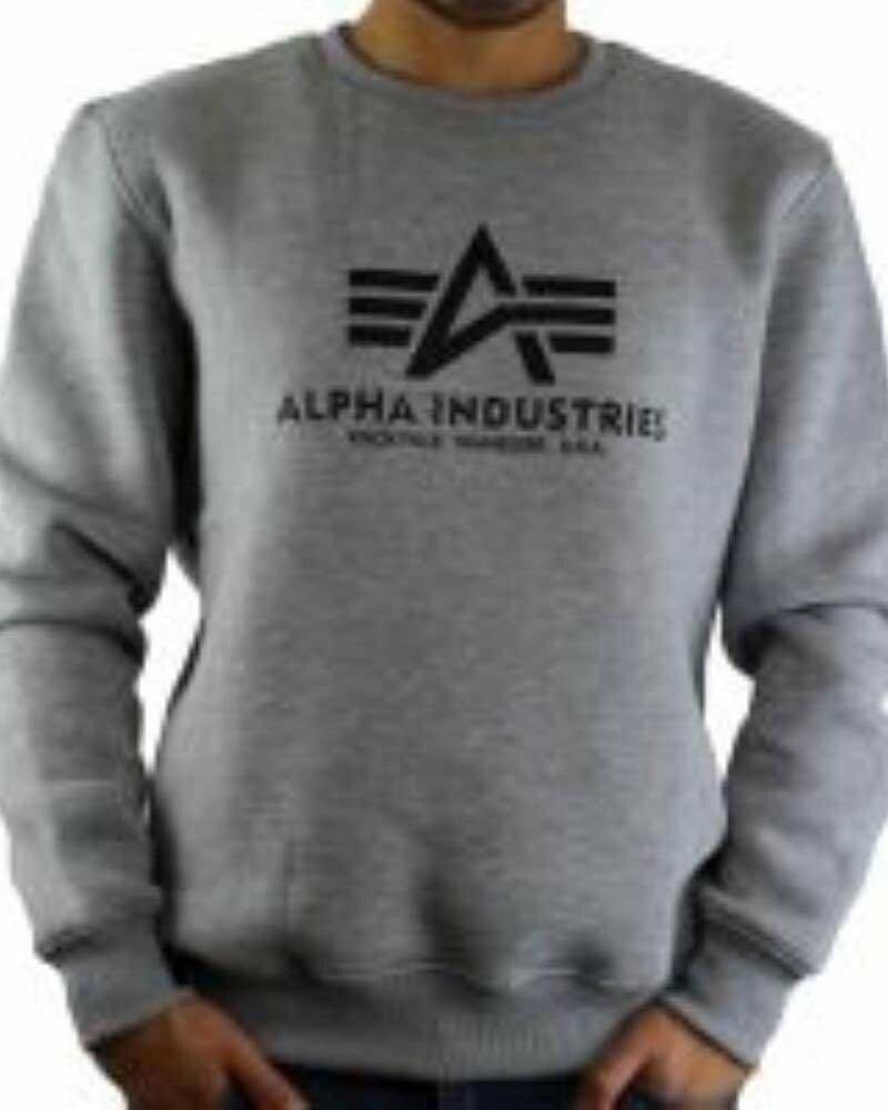 Alpha Industries Men's Sweatshirts Gray