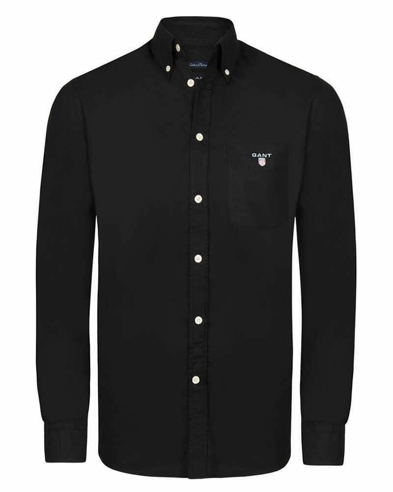 Gant Men's Shirts Light Black