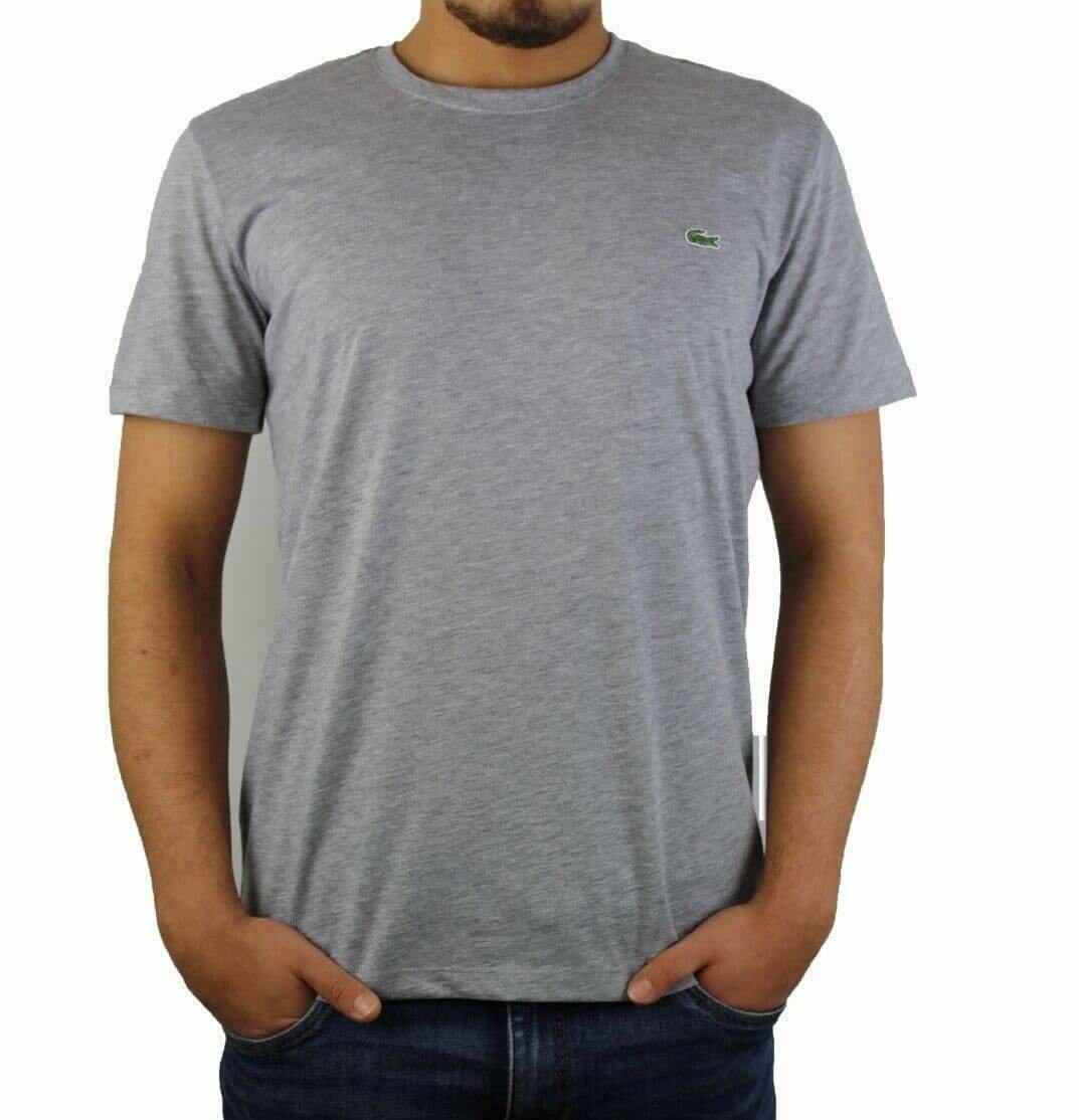 Lacoste Men's T-Shirt  Crew Neck Gray