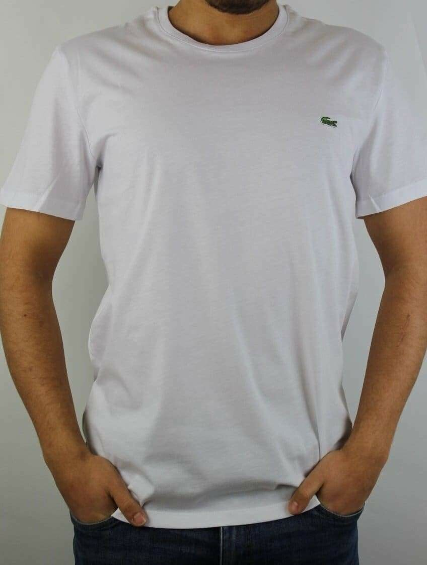 Lacoste Men's T-Shirt  Crew Neck White