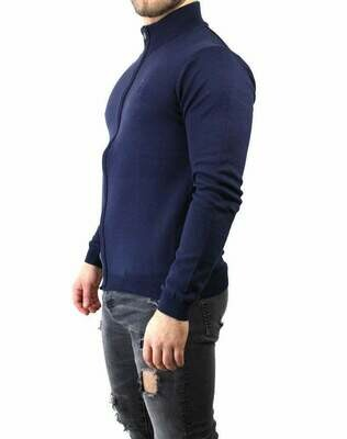 BOSS Men's Cardigan Navy