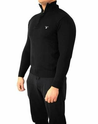 Gant Zip Men's Pullover Black