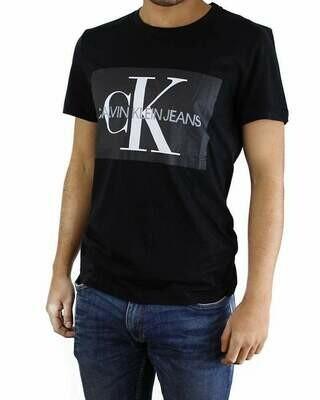 Calvin Klein T-Shirt Crew Neck Men's Black