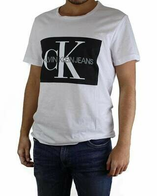 Calvin Klein T-Shirt Crew Neck Men's White