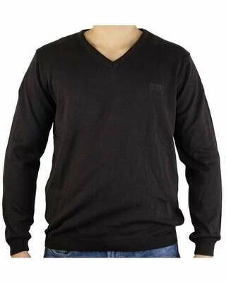 BOSS V Neck Men's Pullover Brown