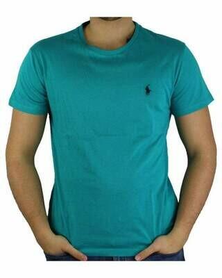 Ralph Lauren Crew Neck Men's T-Shirt Turquoise
