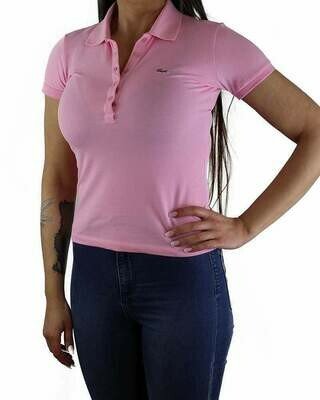 Lacoste Women's Polo Shirts Pink