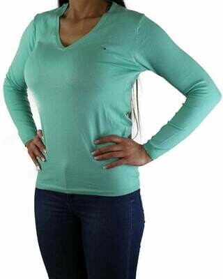 Tommy Hilfiger Women's Pullover Green