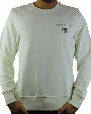 Gant Men's Sweatshirts Ecru