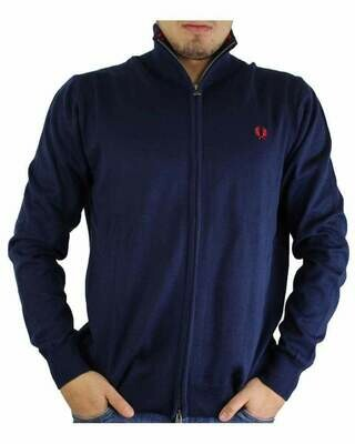 Fred Perry Men's Cardigan Navy