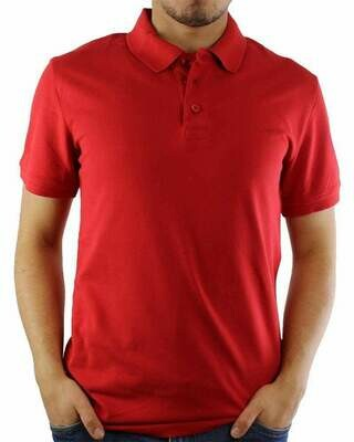 Armani Jeans Men's Polo Shirts Red