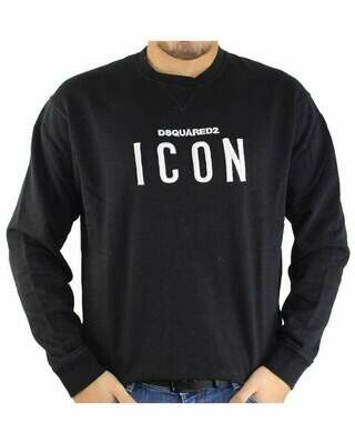 Dsquared2 ICON Men's Sweatshirts Black