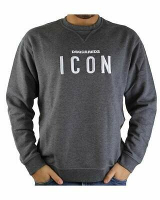 Dsquared2 ICON Men's Sweatshirts Anthracite